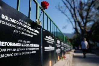 Ato lembra mortes de 91 policiais no Rio de Janeiro em 2017