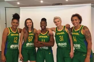 Seleção vence Colômbia na estreia da Copa América Feminina de Basquete