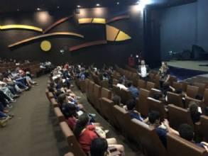 Secretaria de Cultura leva alunos da rede pública ao Cine Brasília