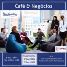 Evento combina café e networking para gerar novos relacionamentos profissionais