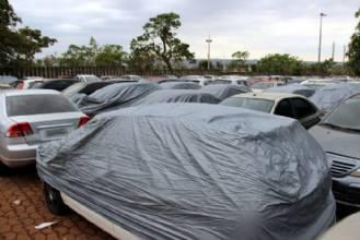 Detran adquire capas de proteção para veículos recolhidos ao depósito
