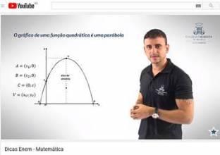 Professores dão dicas para o ENEM no YouTube