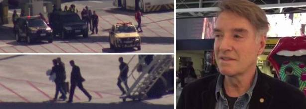 Eike Batista embarca em Nova York com destino ao Rio