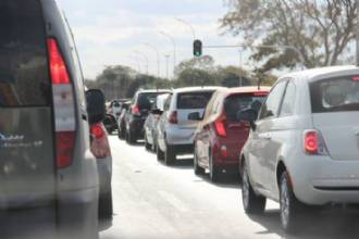 Mais de 1 milhão de veículos estão licenciados no Distrito Federal