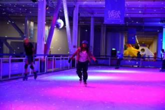 Megapista de Patinação no gelo