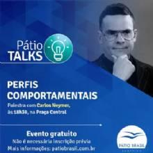 Perfis comportamentais são o tema do Pátio Talks desta quarta