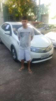Polícia Civil prende homem com veículo furtado e celular roubado