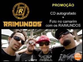 Promoção - RAIMUNDOS com você no Camarim + CD autografado