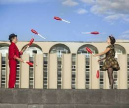 Oficina ensina arte circense para crianças gratuitamente no Boulevard Shopping