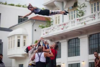Circo contemporâneo do Panamá se apresenta na Caixa Cultural