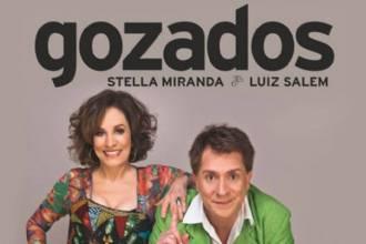 Brasília receberá Luis Salém e Stella Miranda, com o espetáculo Gozados