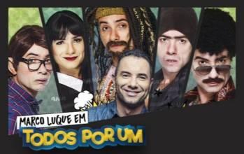 Marco Luque estreia TODOS POR UM em Brasília
